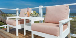 CR Plastics Deep Seating Patio Furniture Syracuse Tarson Pools