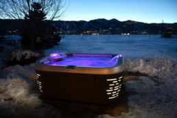 Jacuzzi J-500 in the Cold Winter Tarson Pools